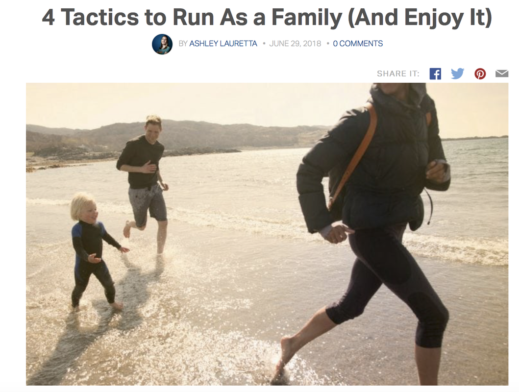 4 tips to running as family
