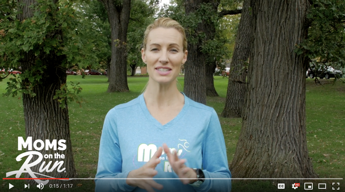Feet and Ankles training tip with Moms on the Run