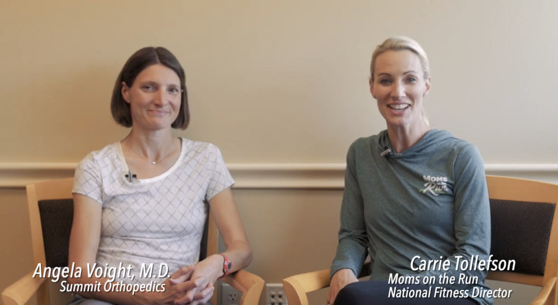 Training Tip with Carrie Tollefson and Angela Voight, M.D.